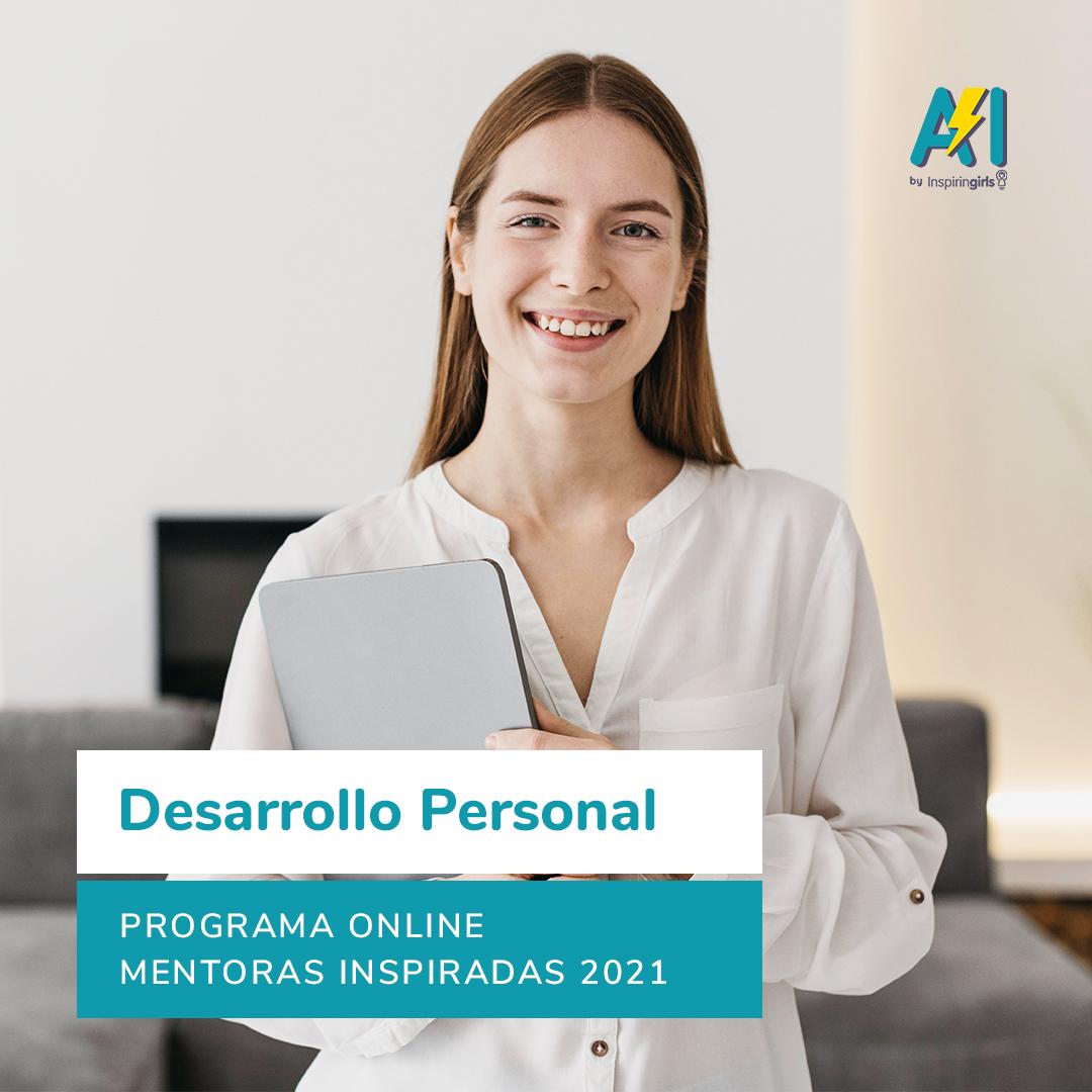 Portada Curso Mentoras – Desarrollo Personal