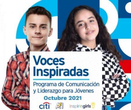 Programa Voces Inspiradas: Comunicación y Liderazgo